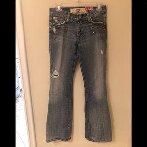 Vintage Seven bootcut jeans size 27